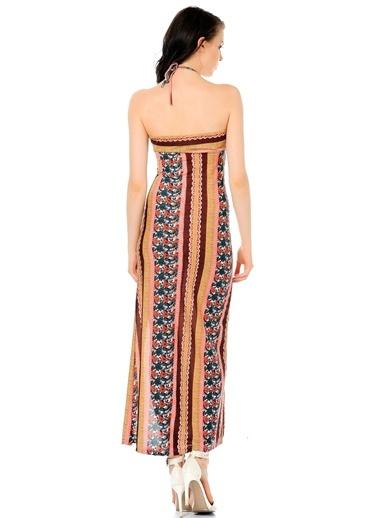 Askılı Uzun Abiye Elbise-Sense